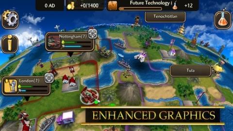 Civilization: Revolution 2 oyunu iOS için resmen indirmeye sunuldu