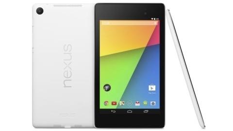 32 GB hafızalı beyaz Nexus 7 satışa çıktı