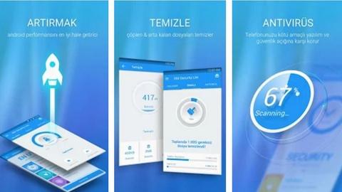 360 Security Lite Android Uygulaması