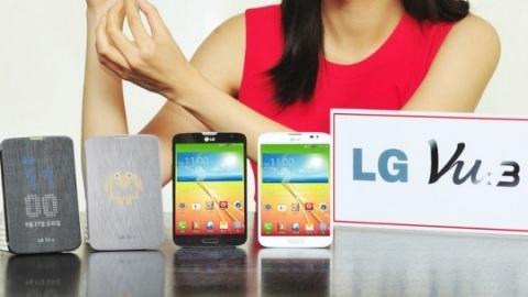 5.2 inçlik LG Vu 3 resmiyet kazandı