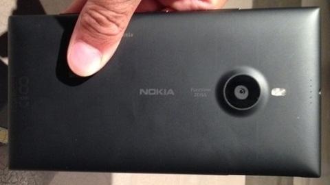 6 inç ekranlı Nokia Lumia 1520'ye ait prototip görüntüleri sızdı