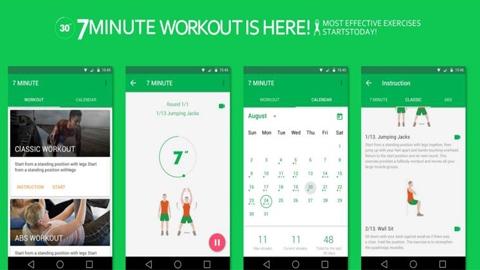 7 Dakika Egzersiz Android Uygulaması