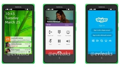 Android KitKat işletim sistemli Nokia A110 akıllı telefon görüntülendi