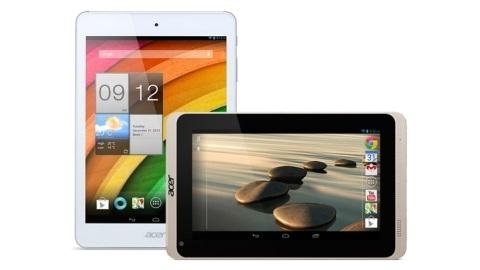 Bütçe dostu Acer Iconia A1-830 ve Iconia B1-720 tabletler duyuruldu
