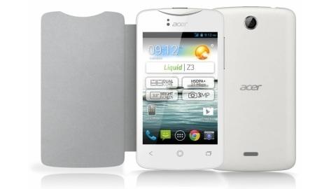 Acer'in bütçe dostu çift çekirdekli Android telefonu Liquid Z3 duyuruldu