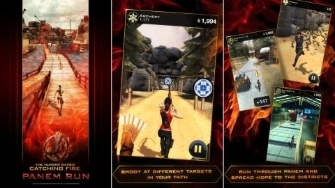 Açlık Oyunları 2 filminin resmi oyunu Android ve iOS için çıktı