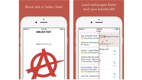 Adblock Fast iOS Uygulaması