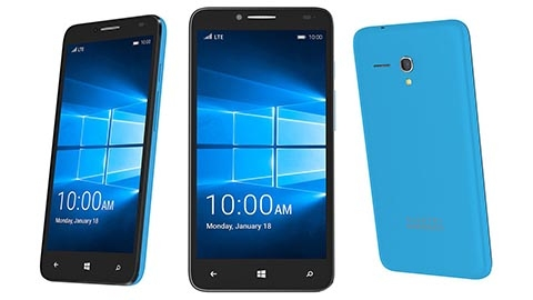 CES 2016: Alcatel'in Windows 10 telefonu OneTouch Fierce XL tanıtıldı