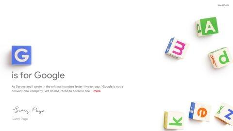 Google CEO'su Sundar Pichai oldu, kurucular Alphabet holdinge geçti