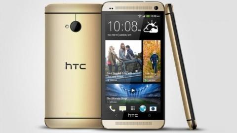 Altın renkli HTC One duyuruldu