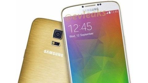 Altın renkli Samsung Galaxy F görüntülendi