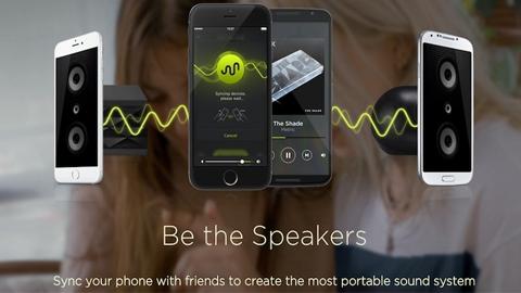 AmpME Çoklu Hoparlör iOS Uygulaması