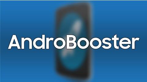 AndroBooster Android Uygulaması