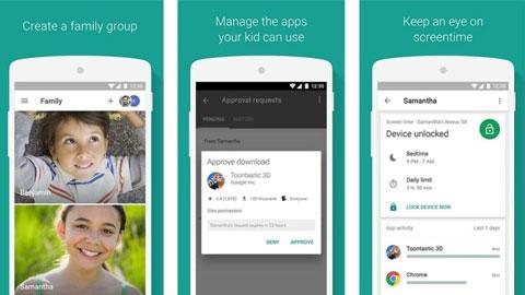 Android Google Aile Bağlantısı Uygulaması