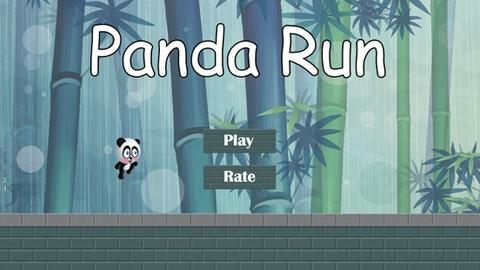 Android için aksiyon oyunu Panda Run