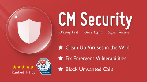 Android İçin Antivirüs Uygulaması CM Security - Antivirus FREE
