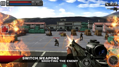Android için nişancı oyunu: Death Shooter 3D