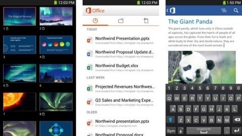 Android için Office Mobile uygulaması çıktı, hemen indirin