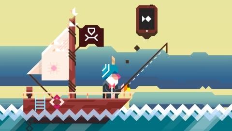 Android için Ridiculous Fishing resmen çıktı