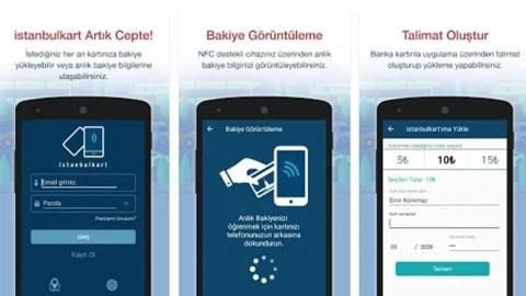 Android İstanbul Kart Uygulaması