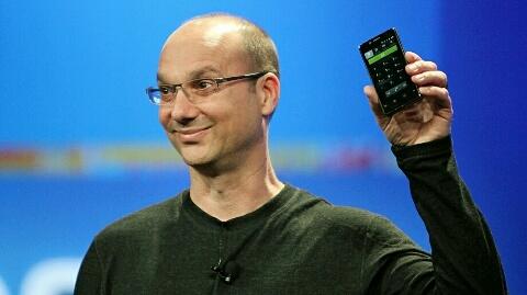 Android platformunun mucidi Andy Rubin Google'den ayrıldı