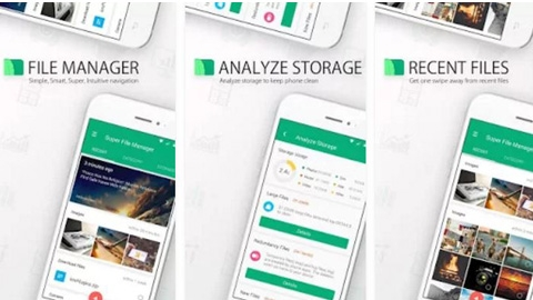 Android Super File Manager Uygulaması