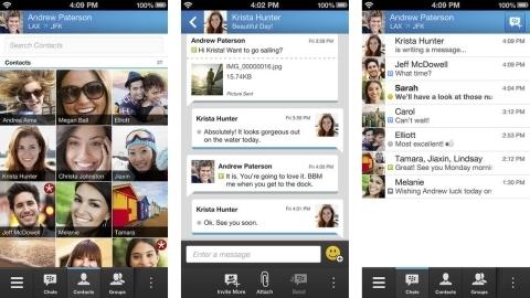 Android ve iOS için BBM uygulaması resmen indirmeye sunuldu