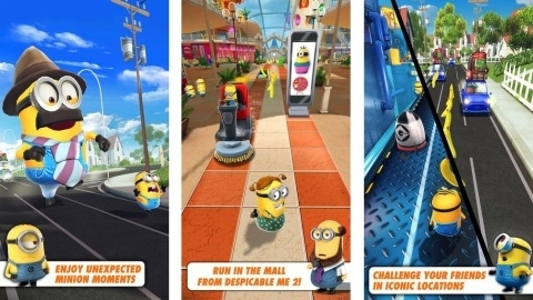 Android ve iOS için yapılan en çılgın oyun: Minion Rush