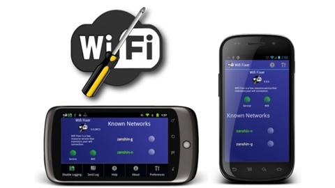 Android Wifi Fixer Uygulaması