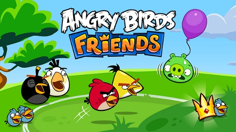 Angry Birds Friends iOS ve Android uygulaması mağazalardaki yerini aldı