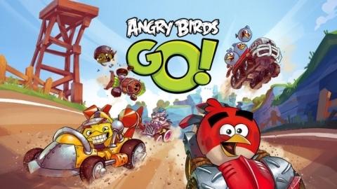 Angry Birds Go! mobil yarış oyunu çıktı