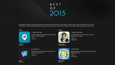 Apple 2015'in en iyi uygulamalarını açıkladı