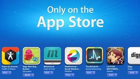 Apple, App Store'nin 5. yılına özel olarak popüler oyun ve uygulamalar tamamen ücretsiz dağıtıyor
