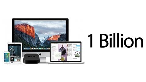 Apple, aktif cihaz sayısının bir milyara ulaştığını açıkladı