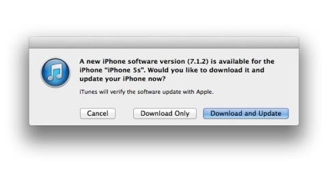 Apple, iOS 7.1.2 g�ncellemesini resmen yay�mlad�