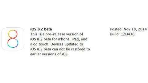iOS 8.2 beta sürümü ve Apple WatchKit SDK yayımlandı