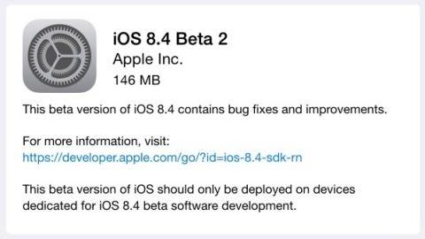 iOS 8.4 beta 2 sürümü herkese açık olarak yayımlandı