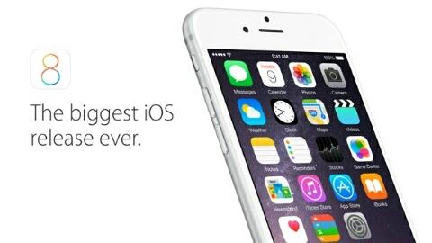 Apple iOS 8 ilk gün kullanım oranı
