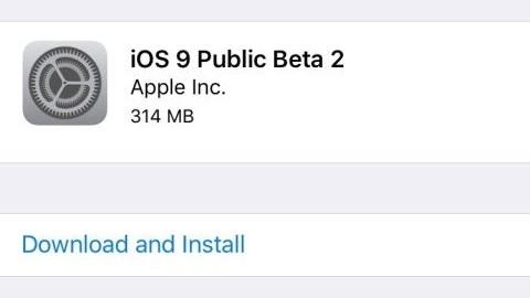 iOS 9 işletim sisteminin ikinci genel beta sürümü yayımlandı
