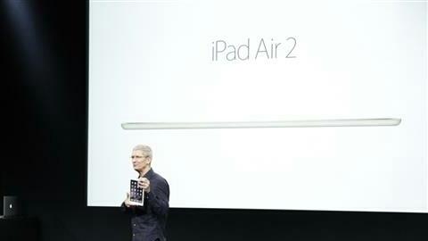 iPad Air 2 ve iPad mini 3 resmen tanıtıldı