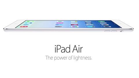 Apple iPad Air resmiyet kazandı: Apple A7 çipset, 7.5 milimetre kalınlık