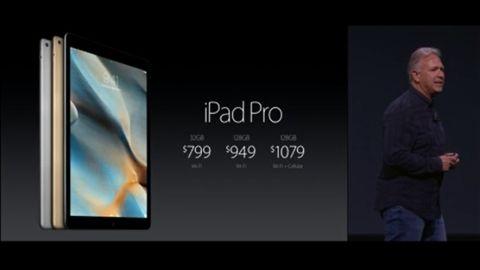 12,9 inçlik Apple iPad Pro tanıtıldı