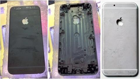 4,7 inçlik iPhone 6'nın arka kasasına ait yeni görüntü ve detaylar
