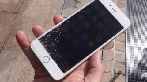 Video: İlk iPhone 6/6 Plus düşürme testi