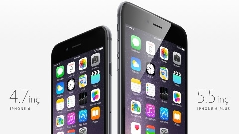Apple iPhone 6 ve iPhone 6 Plus'tan ön sipariş rekoru