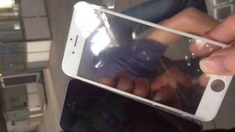 iPhone 6'nın ilk ön panel görüntüsü