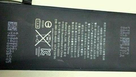 iPhone 6c'ye ait olduğu iddia edilen batarya görüntülendi
