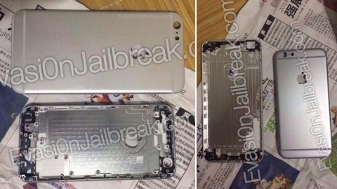 5,5 in�lik iPhone 6L'nin arka kasa g�r�nt�leri yay�mland�