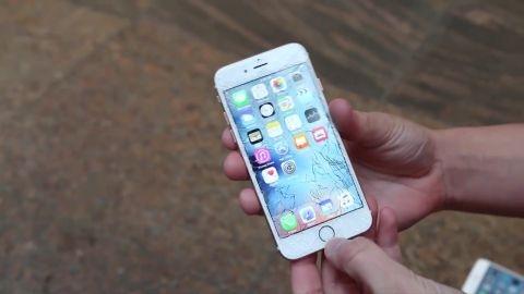 iPhone 6s ve iPhone 6s Plus düşürme/bükülme test videoları