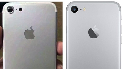 iPhone 7'nin arka kasası görüntülendi